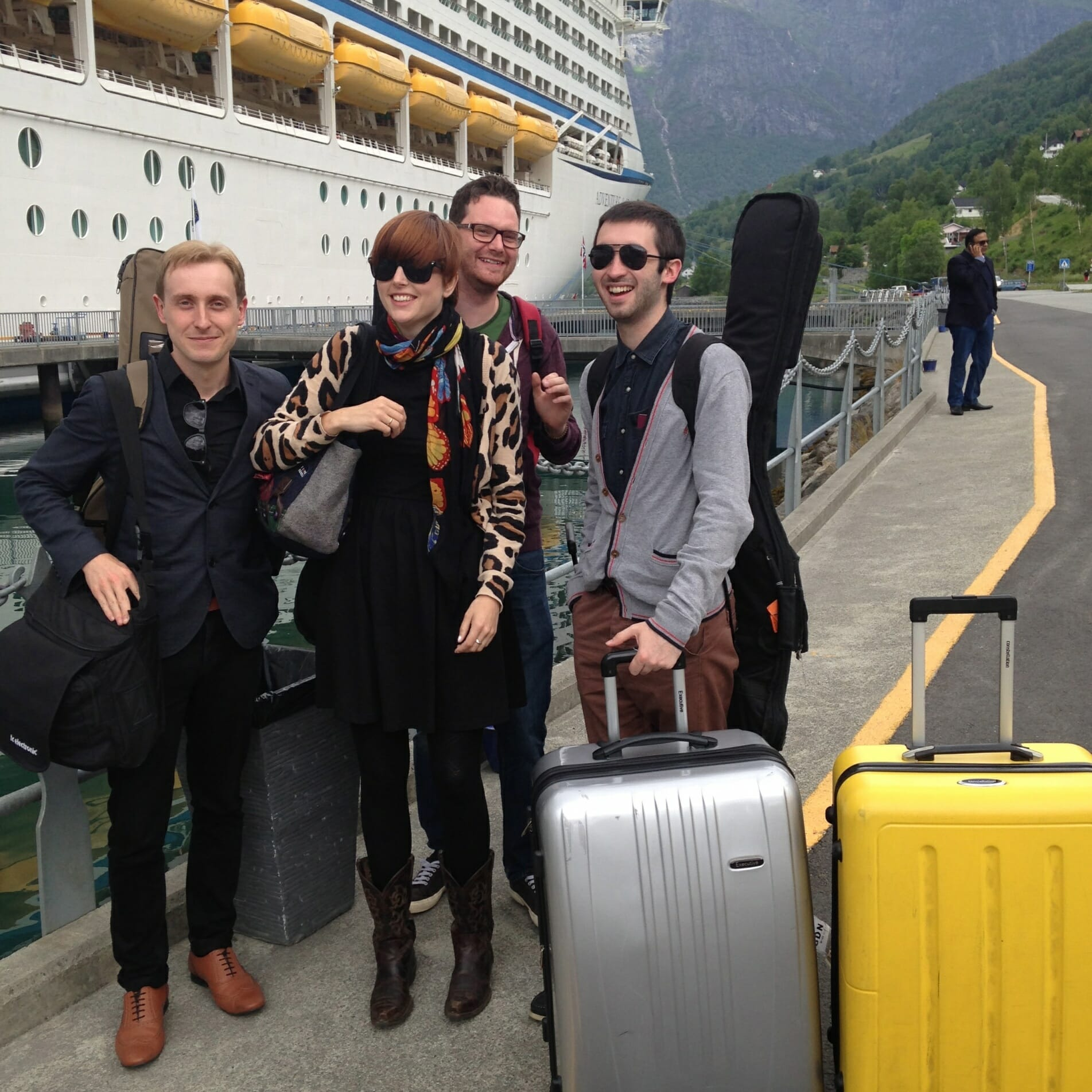 The Zoots go to Loen, Norway, June 2014. The Zoots band, Norway, Fjords, Scenic, The Zoots wedding band, Wedding bands in Wiltshire, Wedding band in Dorset, Wedding bands in The South West, Party Band, 60s band, 1960s band, Wedding music, Band for NYE, bands in Wiltshire, Party Band South West,