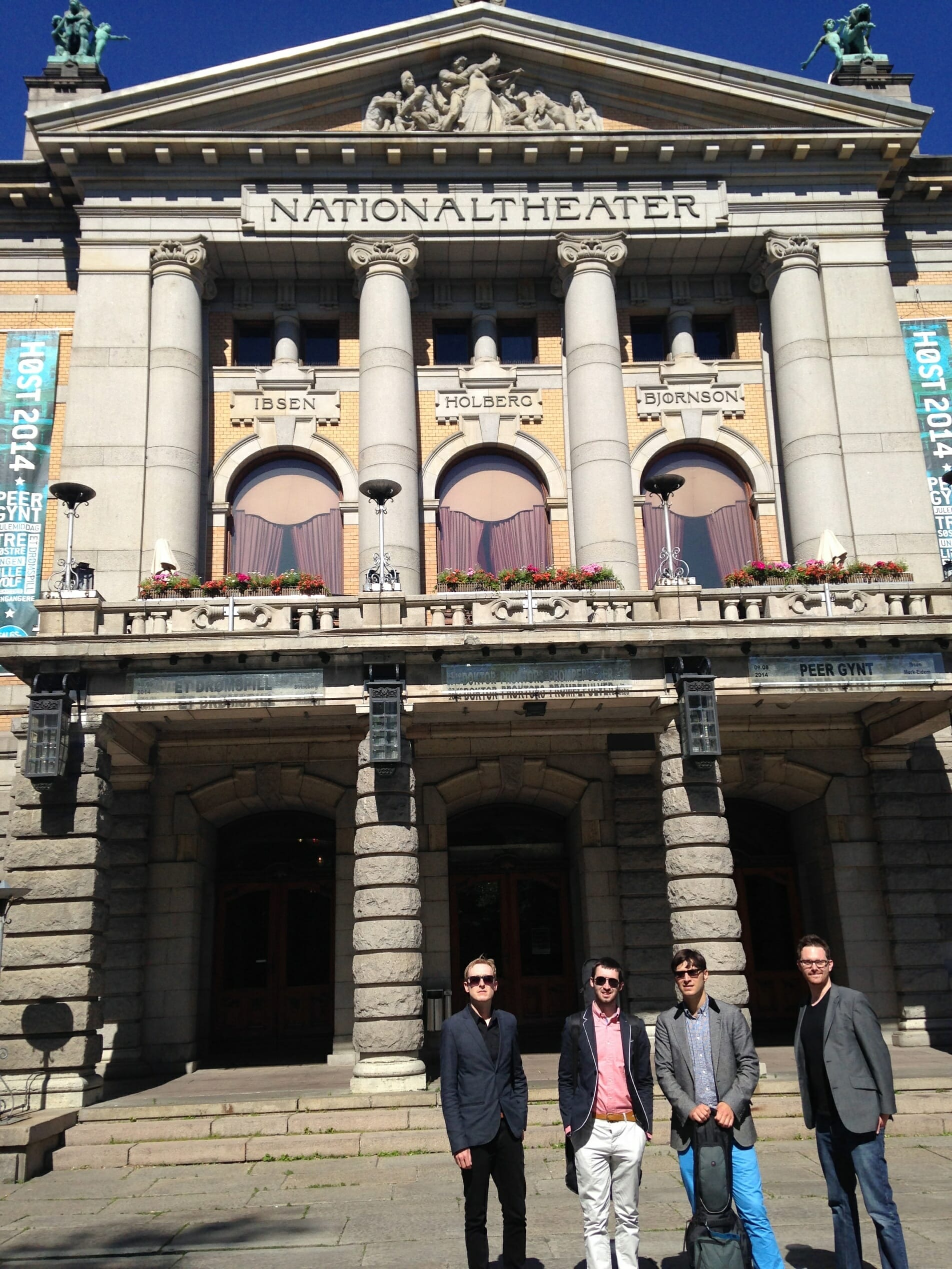 The Zoots in Oslo at the National Theater