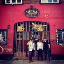 The Zoots at the Indra Club, Hamburg, Germany