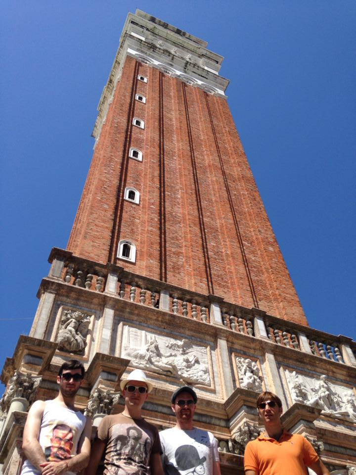 The Zoots band in Venice