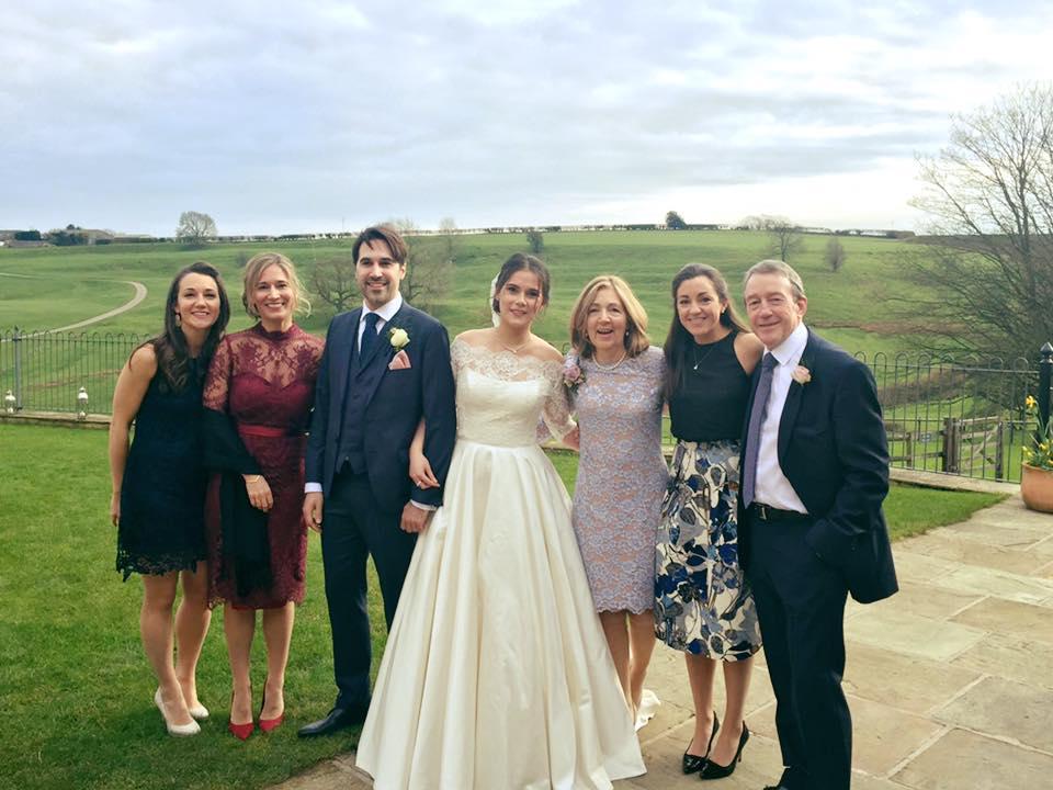 weddding at Kingscote barn, wedding suppliers at Kingscote barn
