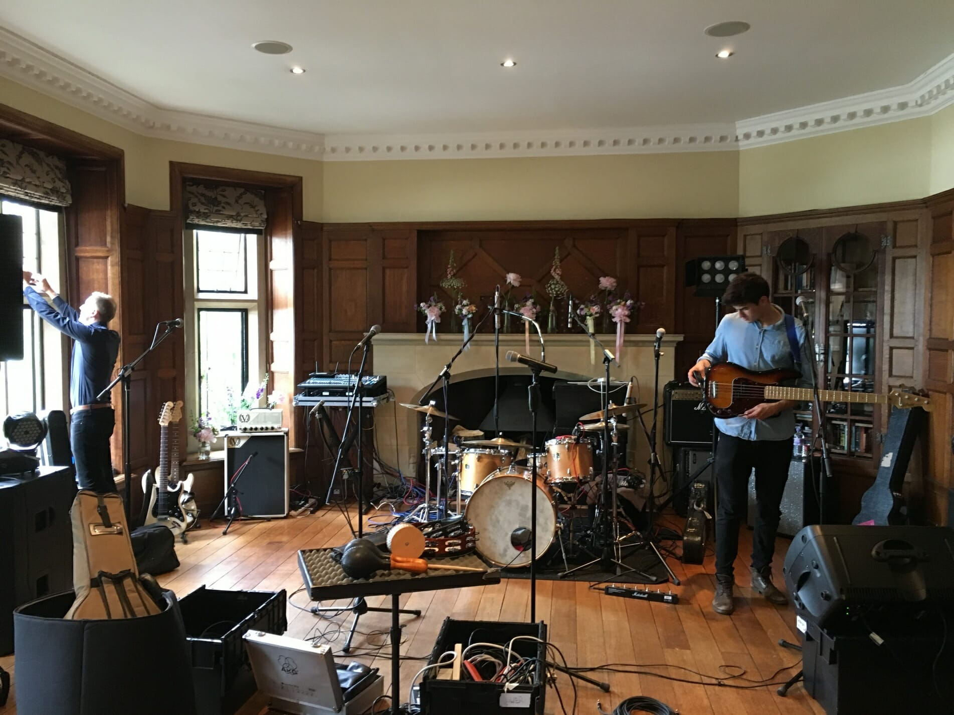 Bianca and Dan, Wedding at Chaffeymoor Grange, Wedding venue Dorset, The Zoots, Zoots band, Band in Dorset, Band for hire Dorset,
