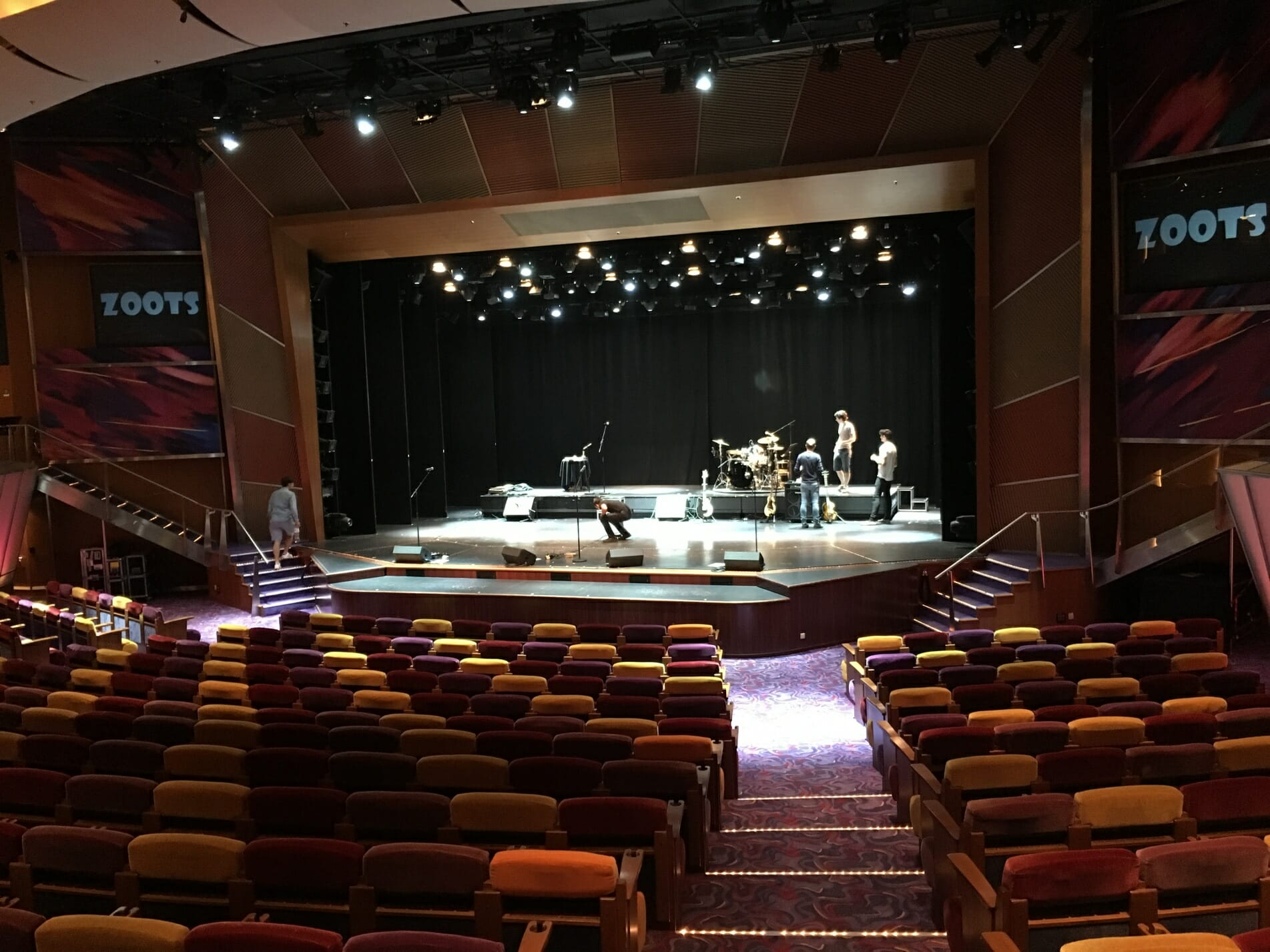 The Zoots, Band Soundcheck, Theatre show, Sixties Theatre show, 60s show, Awesome sixties show, The Zoots show, Band for hire, British Band, 60s band,