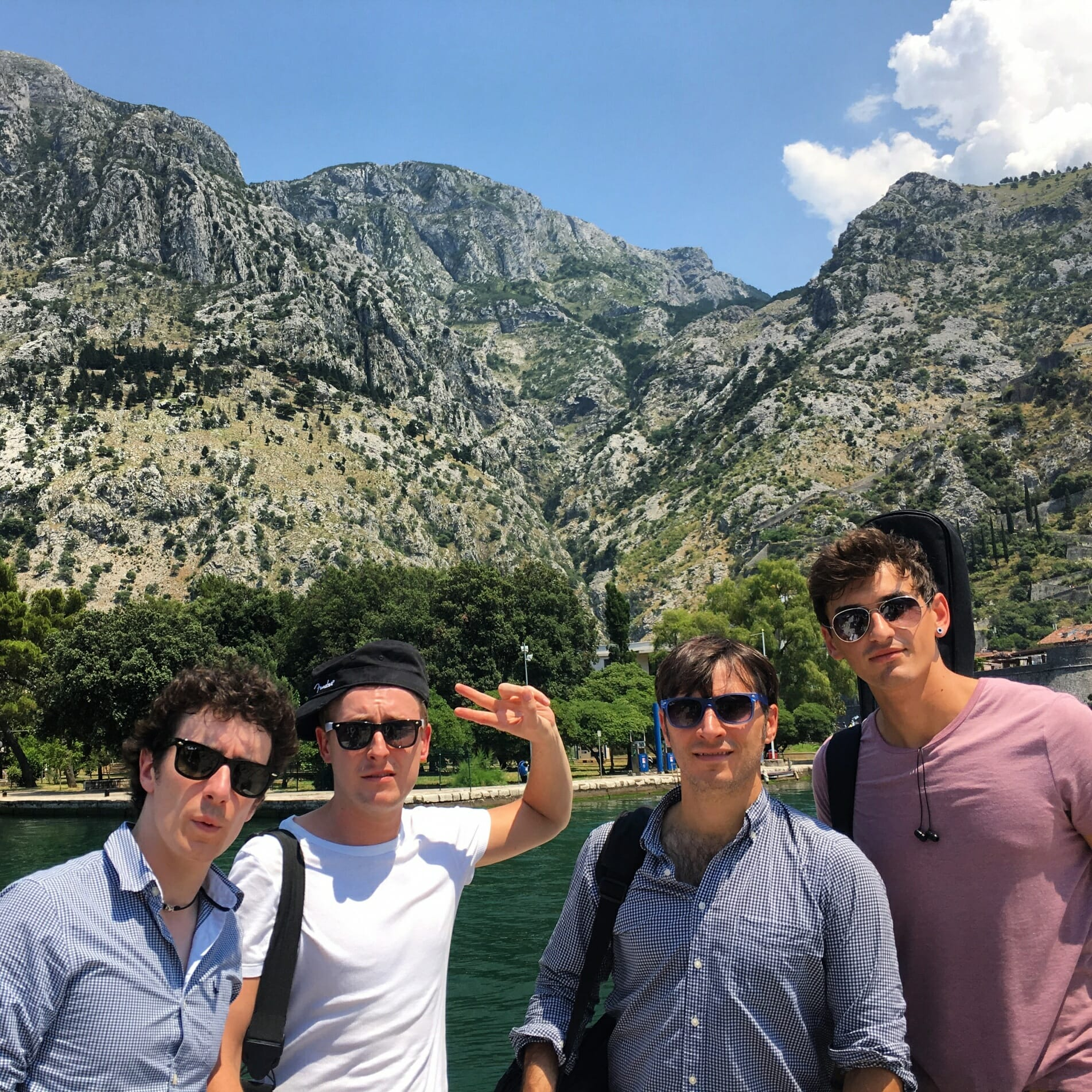 The Zoots, Montenegro, Band on tour, travelling band, Sixites band, Royal Carribbean Band, Zoots, Band in Wiltshire,