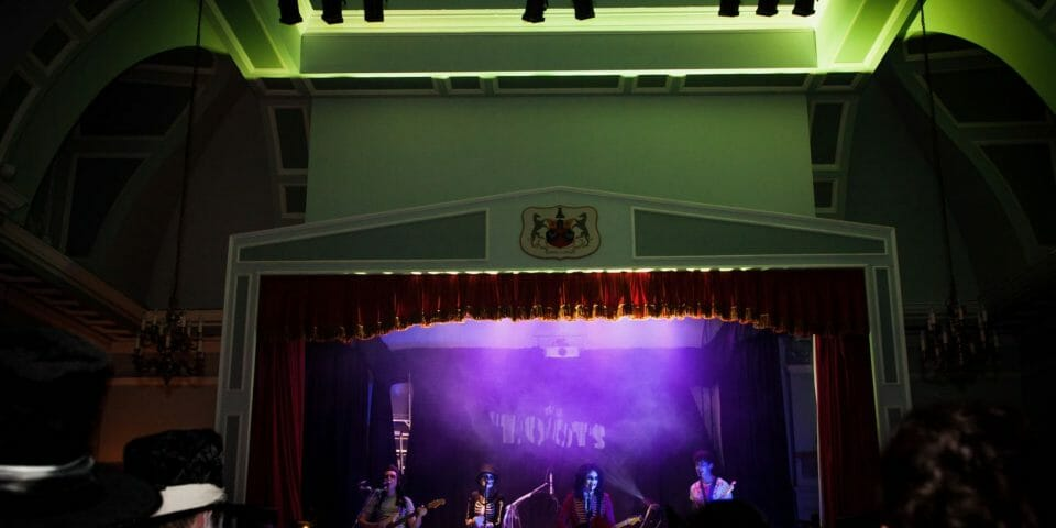 The zoots, Wedding band Wiltshire, The Zoots band, Band in Marlborough, Band in South West, Halloween show, Marlborough Town Hall, The Zoots Wiltshire, Band Wilshire,