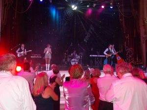 The Zoots band at Blackpool Tower stage, 60s tribute show, theatre show 1960s, dancing