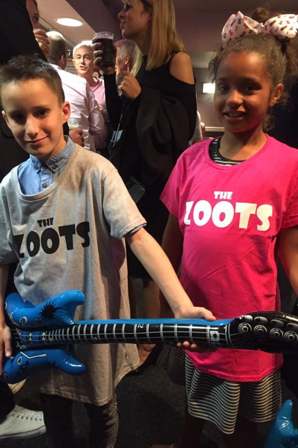 Levi and Chyna at The Zoots 60s show