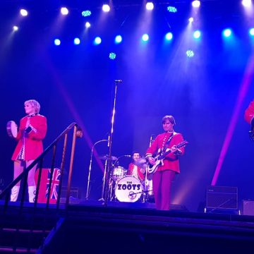 Sounds of the 60s show, the zoots, 60s tribute